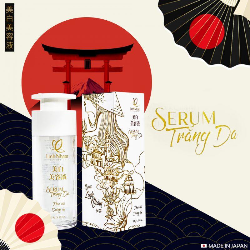 Serum trắng da – công nghệ Nhật – cho làn da Việt